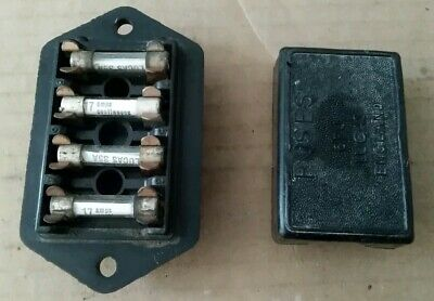 Land Rover Series 3 Genuine Lucas Fuse Box Fusebox & Cover FREE UK POSTAGE