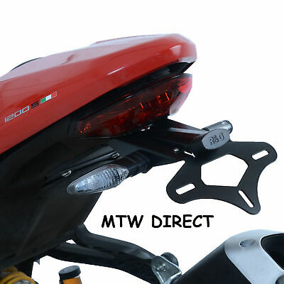 R&G Tail Tidy/Licence/Number Plate holder Ducati Monster 821 2018   LP0249BK