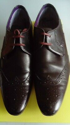 4794b1f332cc MENS TED BAKER Brown Leather Brogues  Nenoi  UK10 - £15.00