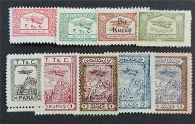 nystamps Turkey Stamp # RAC6//RAC29 Mint OG H $37