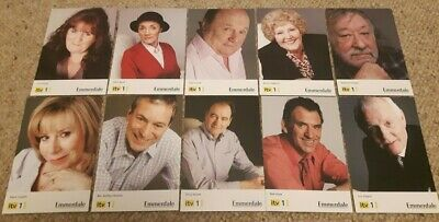 Brand New - Emmerdale - X 10 - Cast Cards - Not Signed