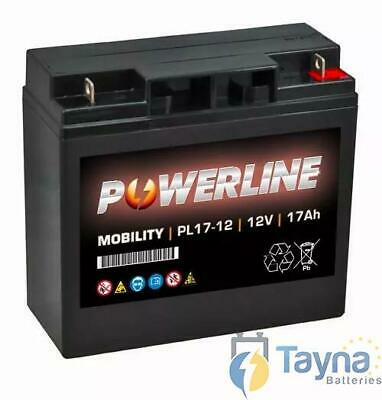 PL17-12 Powerline Mobility Batterie 12V 17Ah