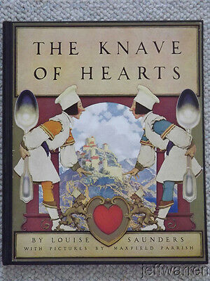 Rare Books~Maxfield Parrish~THE KNAVE of HEARTS First Edition Near Fine