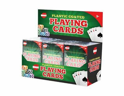 Professional Plastic Coated Playing Cards Game Poket Size- Various Colours