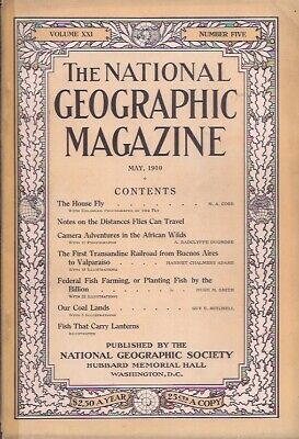 national geographic-MAY 1910-CAMERA ADVENTURES IN THE AFRICAN WILDS.