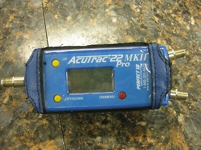 PERFECT 10 ACUTRAC-22-MKII-PRO Satellite Signal  Tracking  w/ Case   #4so