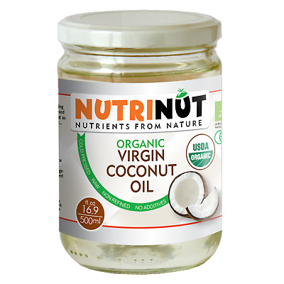 Organic Virgin Coconut Oil 500ml x 6