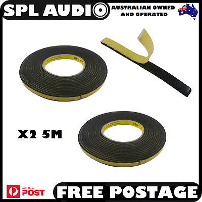 10M Foam Gasket Tape Adhesive Sticky Single Sided Roll