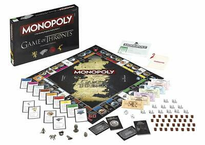 Monopoly Game of Thrones Collector's Edition Winning Moves Australia Free Post