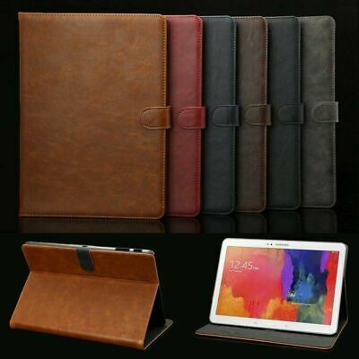 Luxury Leather Cover Case For Samsung Galaxy Tab A A6 10.1 E 9.6 S2 S3 S4 Tablet