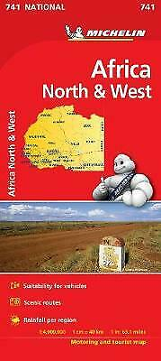 Africa North & West - Michelin National Map 741 - 9782067172203