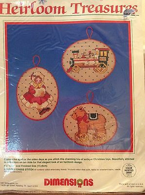 Dimensions Counted Cross Stitch:  Heirloom Treasures:  New