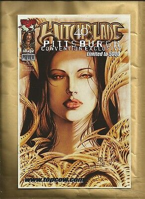 Witchblade Preview 1 2000 Pittsburgh Convention only 5000 printed  Image Comics