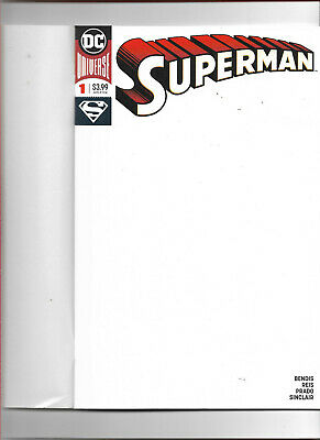 SUPERMAN (2018) #1 - BLANK COVER - New Bagged (S)