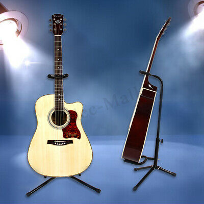 Professional Musician Gear A-Frame Electric Acoustic Guitar Stand Holder  NEW