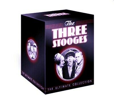 The Three Stooges Ultimate Collection 1-8 (1 2 3 4 5 6 7 8) DVD BOX SET Regn2 UK