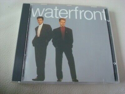 WATERFRONT 1989 S/T CD Tightrope Cry Synth-Pop Welsh-Duo