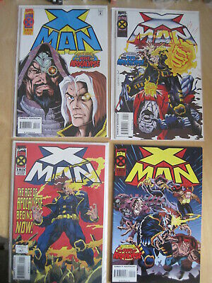 X MAN , VoL 1 MARVEL 1995 SERIES issues 1 - 20 COMPLETE by JEPH LOEB, SKROCE etc