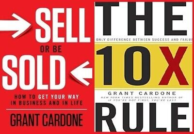 Audio Books By Grant Cardone (2 audio books, e-Delivery)