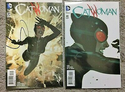 CATWOMAN 47 48 49 50 (Run Like Hell, DC New 52, Justice League, Batgirl, vol 4)