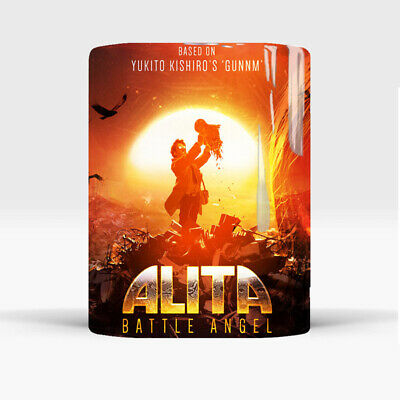 Alita Battle Angel Movie Color Changing Mug Magic Coffee Cup With Protector Gift