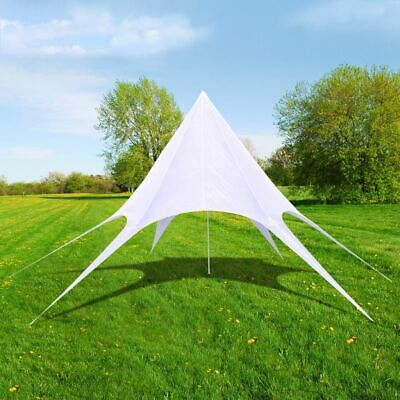 vidaXL Gazebo Hexagon Star Garden Pavilion 12m Patio Party Marquee Canopy Tent