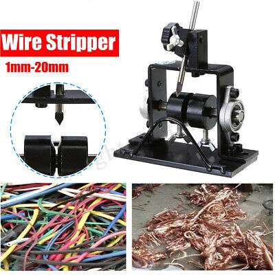 Manual Wire Cable Stripping Peeling Machine Scrap Stripper Metal Recycle