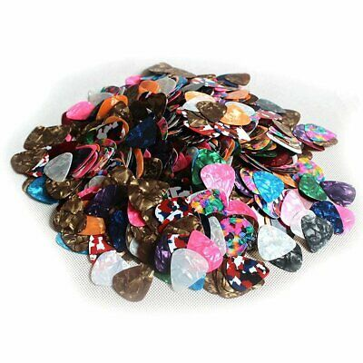 10/40/100X Alice Guitar Picks Variety Color Celluloid Small Tin 0.46mm 0.71MM KS
