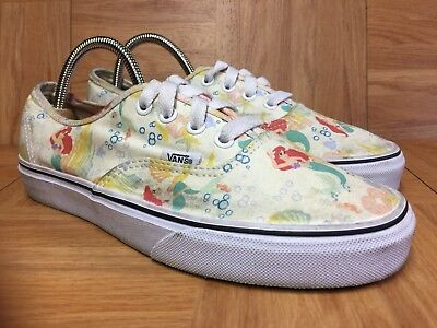 df85a587cb25 RARE🔥 VANS x Disney Little Mermaid Ariel Authentic Shoes 6 Men s - 7.5  Women s