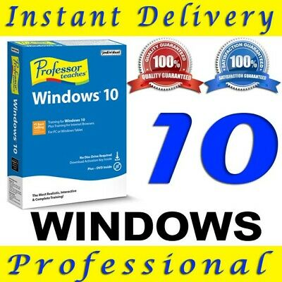 Instant Windows 10 Pro 32|64-Bit Download Link Gene Activation Key