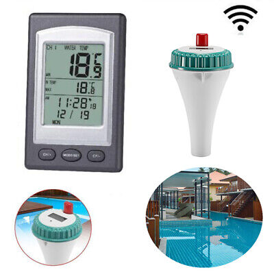 Waterproof SPA Thermometer Wireless LCD Digital Screen Floating Thermometer Tool