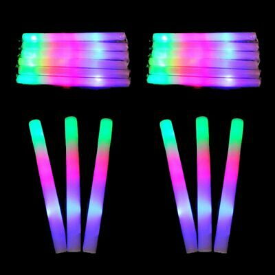 Glow In The Dark Stick 10/50Pcs- Size Halloween Novelty Gift KS