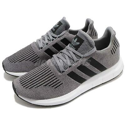 3f1ced8635420 adidas Originals Swift Run Grey Black Men Running Shoes Sneakers Trainers  CQ2115