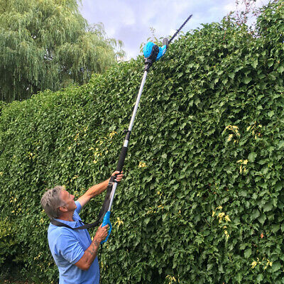 """Maximo 8ft 2"""" Electric Telescopic Long-Reach Hedge Trimmer *BRAND NEW*"""