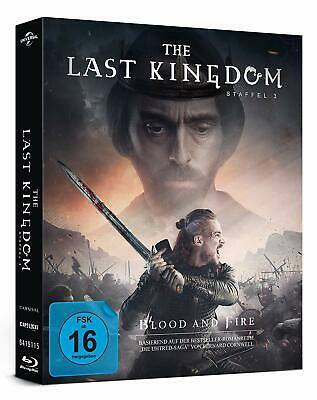 The Last Kingdom - Staffel 3 [4x Blu-ray] *NEU* DEUTSCH Komplette Season 3 Drei