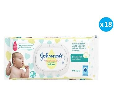 Johnson's Baby Cottontouch™ Wipes Extra Sensitive 18x56 Pieces