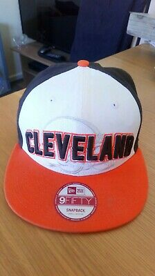 f6795355764 New Era Cleveland Browns 9FIFTY 2012 NFL Draft Snapback Hat - Brown White S