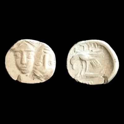 Rare Unresearched Hemidrachm Greek Silver Coin 300 Bc Coins & Paper Money 1
