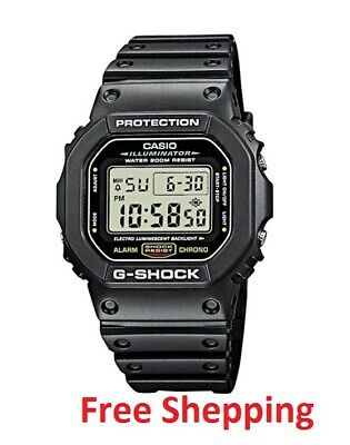 Casio G-Shock DW5600E-1V digital watch, one size fits all, Black. Free shipping!