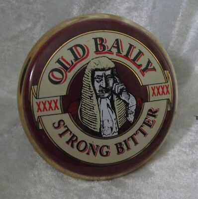 Old Bailey Strong Bitter Beer Ceramic Pump Clip