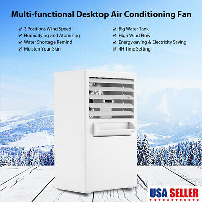 Portable Air Conditioner Air Conditioning Fan Cooling Touch Control 3 Speed