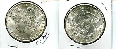 1897 S  Morgan Silver Dollar Choice Bu 5574L