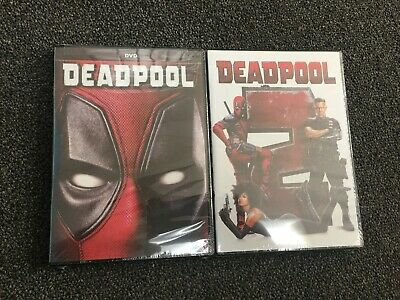 Deadpool 1 & 2 (DVD,2018) NEW Action Comedy Brand New Sealed!