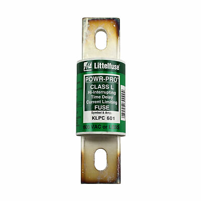 Littelfuse Klpc-601 Hi-Interrupting Time Delay Limiting Fuse 600Vac Class L