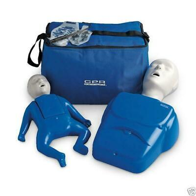CPR Prompt Adult/Child and Infant CPR AED Training Manikin TPAK12 Value Pack!