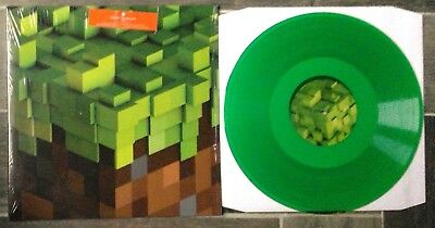 C 418 - Minecraft Volume Alpha Vinyl LP Green New, non Lenticular