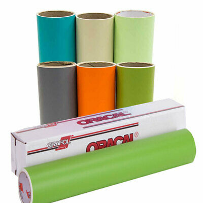 "Oracal 631 Vinyl - Pick 5 Colors/Rolls for $40, 12"" x 10ft Each Matte Adhesive"