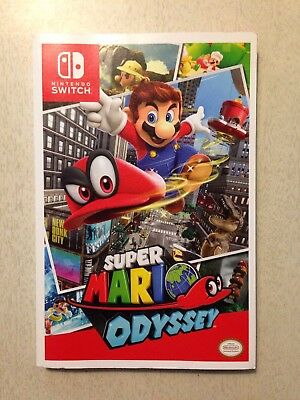 Super Mario Odyssey strategy guide Nintendo Switch Prima Games 285 pages No Game