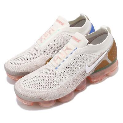 Nike Air Vapormax FK Moc 2 Flyknit Sail Pink Wheat Men Running Shoes AH7006-100
