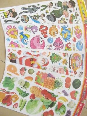 5x20Sheets/pgs Magic Scrapbooking Stickers Assorted Wholesale